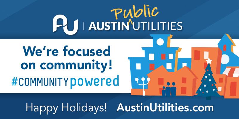 Austin Utilities Holiday